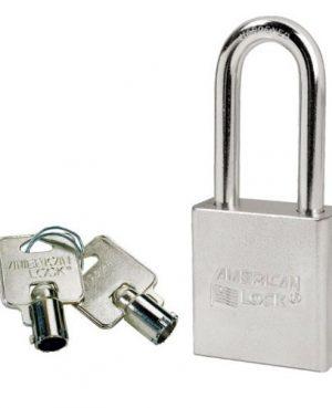CANDADO AMERICAN LOCK A7201 CROMO GANCHO LARGO 50mm CUERPO 44mm
